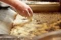 料理メニュー写真季節の野菜天ぷら 彩り香味塩