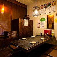 女子会・飲み会にも最適な情緒あふれる雰囲気の居酒屋…