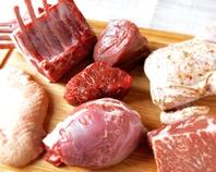 豚・鴨・羊・牛等様々なお肉もご用意