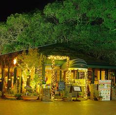 森のレストランの写真