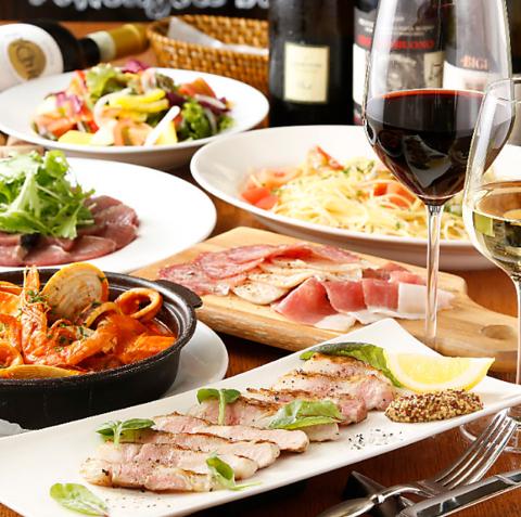 ランチはお手軽に、ディナーは本格イタリアンを堪能出来ます。
