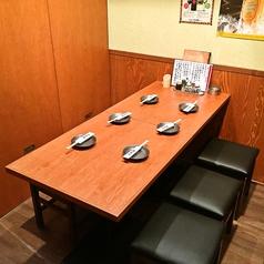 【個室】2F★6名様までの完全個室席。飲み会・女子会・誕生日会などにオススメ♪