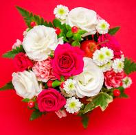 花束をご用意します♪