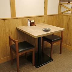 テーブル席/2名様用