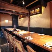 20名様までOKのテーブル席は同窓会や会社宴会など団体様でのご利用に大人気のお席です♪