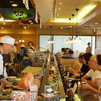 寿司と言えばカウンター
