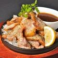 料理メニュー写真熟成豚バラ肉のロースト 300g