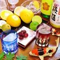 料理メニュー写真~季節のフレッシュフルーツ使用~梅酒の生搾りフルーツ割り