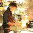 粋なスタッフによる逸品料理をお楽しみください!