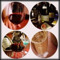 ワイン100種以上。お好みに合わせご提案も可能です。