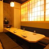 全席、和基調の個室です。三島駅近辺でのデートや女子会・誕生日会などの記念日の宴会にオススメです♪裏路地にあるので、隠れ家的居酒屋です☆*写真は系列店です