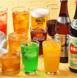 人気のドリンクバーと2時間飲み放題♪お選び頂けます!
