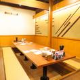 親しい仲間とプライベート感ある空間で飲み会を!【札幌/居酒屋/飲み放題】