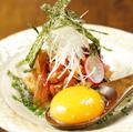 料理メニュー写真大分名物 りゅうきゅう~色々な魚介をゴマと醤油であえたもの~