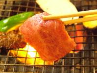 朝まで本格炭火焼肉が味わえる!