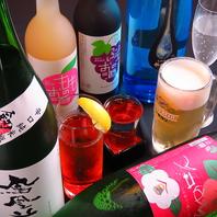 コースご利用で日本酒10種含め70種のドリンクが飲み放題
