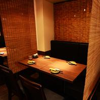 ご宴会用の個室のお席調整可能 池袋個室宴会