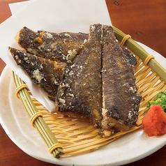 料理メニュー写真北海道産カレイの唐揚げ