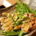 料理メニュー写真モモのタタキ