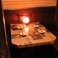 【個室】のテーブル席もご用意させていただいてます!お仕事にもプライベートにもデートにも、、色々なシーンでご利用いただけます♪