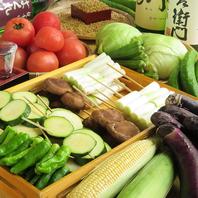 串焼きに使う野菜もこだわりを!
