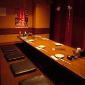 【2階】人数に合わせて使える掘りごたつ個室をご用意!プライベート宴会にもってこいです。