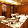 個室でありながら立食パーティーも承ることができます!立食パーティーは20名様~対応可能です。