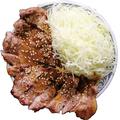 料理メニュー写真炭火焼きピリ辛味噌豚丼(大)