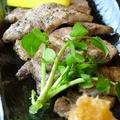 料理メニュー写真黒豚バラの炭火焼
