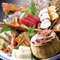 料理メニュー写真お任せ刺身盛り合せ(七種)