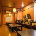 4000円以上のコースでは地酒が飲み放題になります!常に飲み放題の地酒は銘柄を揃えています。日本酒好きにはたまらないラインナップは大満足…#泉中央 #居酒屋 #飲み放題 #味の番所