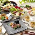 仙台名物が揃う地産地消の和食とイタリアンのお店です。旬の食材に合う地酒やワインも豊富にご用意しております。