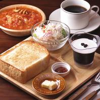 パンが選べる♪ランチセットは11:30~13:00