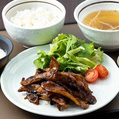 豚トロの蒲焼定食