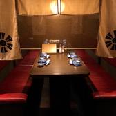 2~4名様用ソファーテーブル席♪