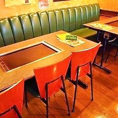6名様用テーブルは2テーブルあります。