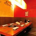 【半個室風 テーブル席】 一部貸切も対応可能!詳細は店舗までお気軽にご相談ください。