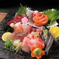 料理メニュー写真季節のお造り七種盛り(三人前)