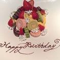 誕生日のお祝いにはロールケーキタワーを…★