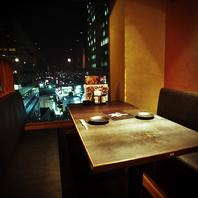 29階からの夜景が楽しめる宴会は新宿ならではです♪
