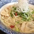 料理メニュー写真広島レモンの海老雲呑麺