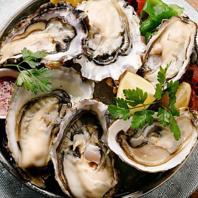 仙鳳趾の生牡蠣や牡蠣メニュー提供開始☆