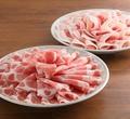 料理メニュー写真しゃぶしゃぶo ヘルシーミックスコース(豚バラ&豚ロース&鶏もも) 食べ放題90分コース