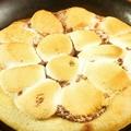 料理メニュー写真マシュマロスモアピザ