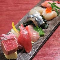 旬菜旬魚をてら田のコースで…