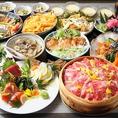 季節の宴会パーティーにもおすすめ!無制限飲み放題付コースをご用意しております◎その他にも限定コースなど宴会にピッタリなコースを多数ご用意!鮮魚や和牛など厳選した食材をふんだんに使用してつくった料理の数々はどれも絶品。素敵な空間と上質な料理でご宴会をお愉しみください。