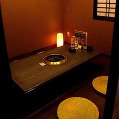 【完全個室】プライベート利用に人気の高いお部屋です。