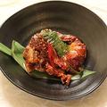 料理メニュー写真ケジャン~渡り蟹のキムチ~