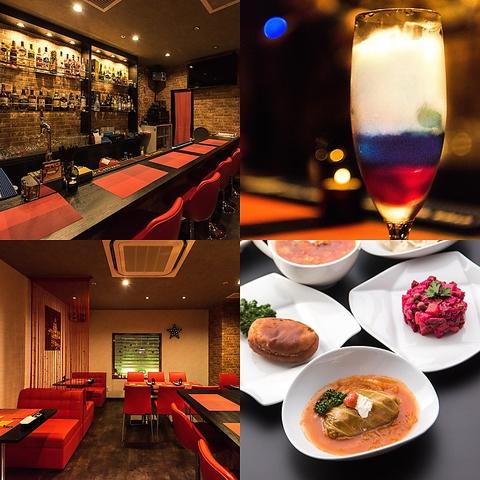 6月にオープンした「Matryoshka Russian Dining Bar Nagoya」☆錦エリアでアクセス◎