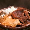 料理メニュー写真こだわりの肉豆腐